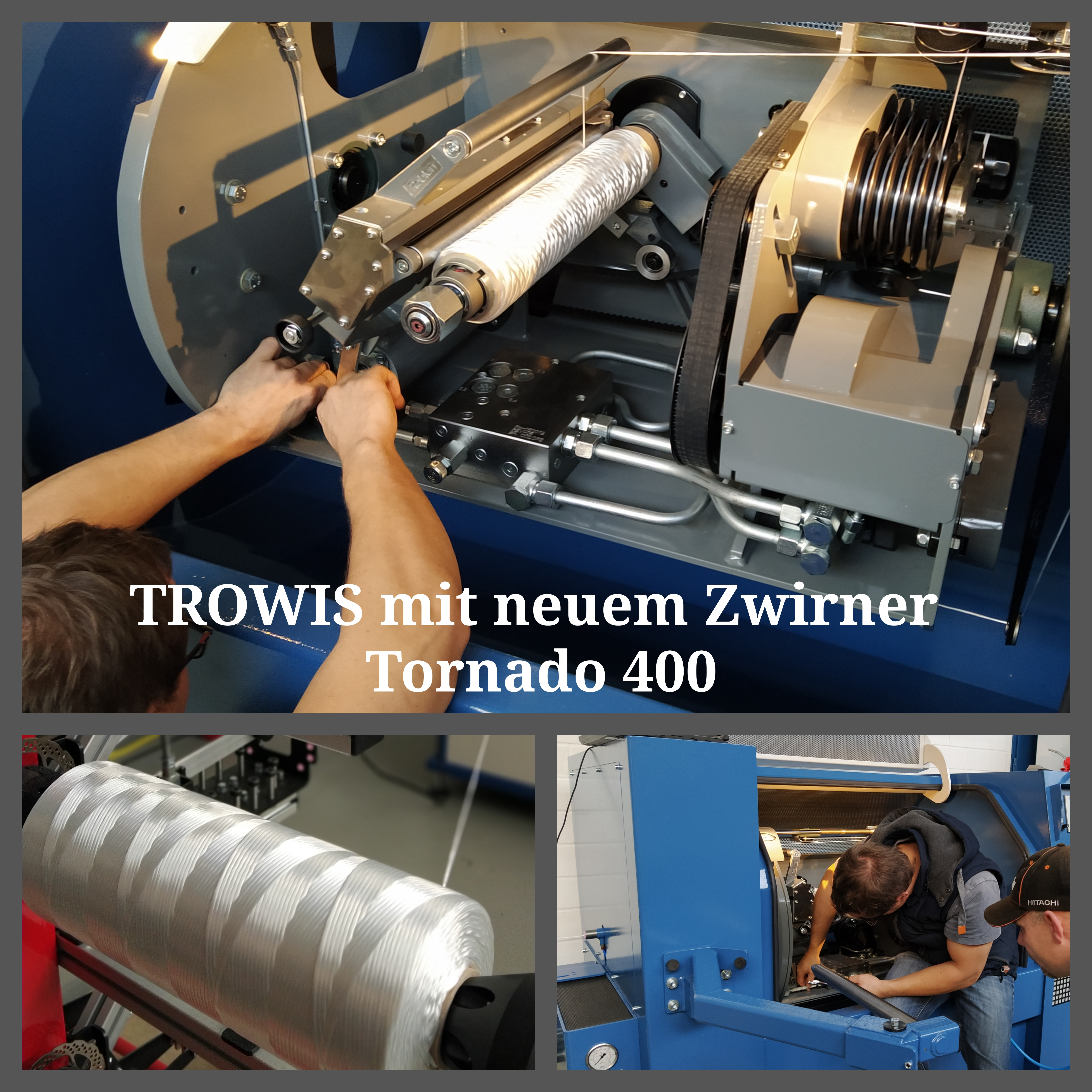 The ROBLON Tornado 400: our latest investment!